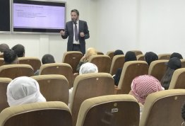 Student's visit to Statistics Center of Abu Dhabi