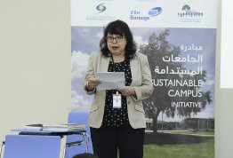 A workshop about Sustainable Universities Initiative
