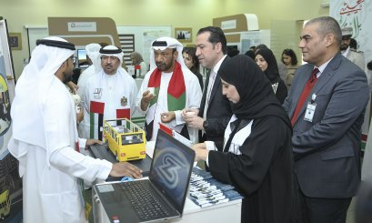 AAU Students Participate in Emirate Creations Exhibition